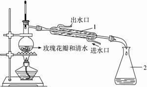 水蒸气蒸馏提取姜油的原理_水蒸气蒸馏提取装置图