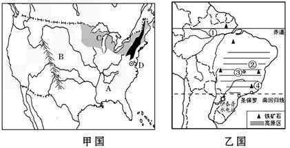 巴西人口多分布于巴西高原_巴西高原