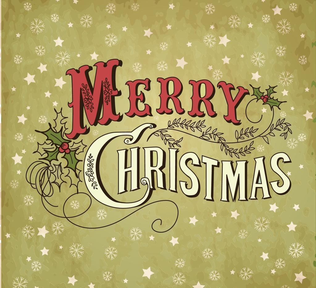 中英语圣诞节祝福语 祝大家圣诞节快乐英文