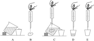 阿基米德原理浮力与什么重力_阿基米德原理测浮力