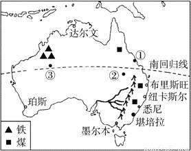 澳大利亚人口城市分布_读 澳大利亚人口分布图 ,回答1 2题.1.澳大利亚的人口和